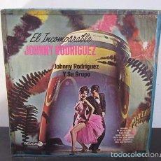 Discos de vinilo: EL INCOMPARABLE JOHNNY RODRIGUEZ GUARACHA BOLERO MANBO Y + VINILO LP T3. Lote 60610983