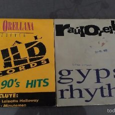 Discos de vinilo: LOTE 2 SINGLES RAUL ORELLANA R. Lote 60616383