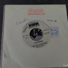 Discos de vinilo: LOS RIGUAL:CABECITA LOCA. R. Lote 60616731