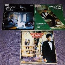 Discos de vinilo: LOTE 3 SINGLES ROLANDO OJEDA. Lote 60619271