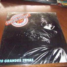 Discos de vinilo: DOBLE LP ENRIQUE GUZMAN Y LOS TEEN TOPS - 20 EXITOS-1991- NUEVO PRECINTADO!!!!!!!!. Lote 88138319