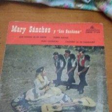 Discos de vinilo: MARY SÁNCHEZ Y LOS BANDAMA. QUE BONITO ES MI TEROR. POBRE RAFAEL. MB2. Lote 60634283