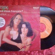 Discos de vinilo: BACCARA PARLEZ VOUS FRANCAIS? LUXEMBURGO 1978 EUROVISION. Lote 60637619
