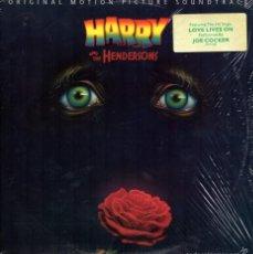 Discos de vinilo: HARRY AND THE HENDERSON. BSO. LP-VINILO. Lote 60637655