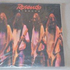 Discos de vinilo: ROSENDO - DOBLE LP DIRECTO. Lote 60650531