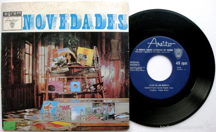 NEREIDA NARANJO (PAQUITO RIVERA, CHUCHO VALDES) - DANZA DE LOS ÑAÑIGOS - SINGLE AREITO BPY (Música - Discos - Singles Vinilo - Grupos y Solistas de latinoamérica)
