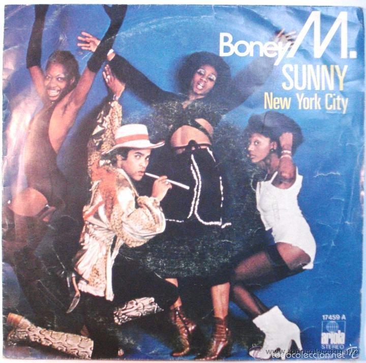 BONEY M SG ARIOLA 1978 SUNNY/ NEW YORK CITY (Música - Discos - Singles Vinilo - Funk, Soul y Black Music)
