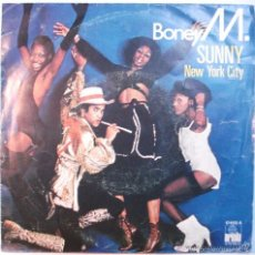 Discos de vinilo: BONEY M SG ARIOLA 1978 SUNNY/ NEW YORK CITY. Lote 60661355