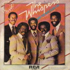 Discos de vinilo: THE WISPERS SG RCA 1980 AND THE BEAT GOES ON / CAN YOU DO THE BOOGIE . Lote 60661851
