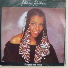 Discos de vinilo: PATRICE RUSHEN - 1982 ELEKTRA FORGET ME NOTS / (SHE WILL) TAKE YOU DOWN TO LOVE . Lote 60662619