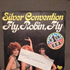 Discos de vinilo: SILVER CONVENTION - FLY ROBIN FLY / TIGER BABY - EDICION ESPAÑOLA BP 1975. Lote 60664011