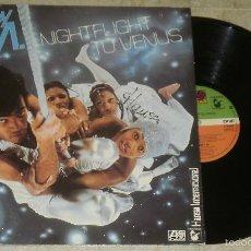Discos de vinilo: LP BONEY M - NIGHTFLIGHT TO VENUS - LP ATLANTIC 1978. Lote 60669947