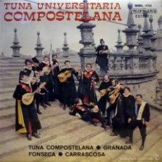 Discos de vinilo: TUNA UNIVERSITARIA COMPOSTELANA.. Lote 60674067