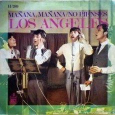 Discos de vinilo: LOS ÁNGELES. MAÑANA, MAÑANA / NO PIENSES. . Lote 60674891