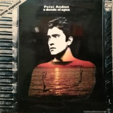 Discos de vinilo: LP PATXI ANDION : A DONDE EL AGUA : 1973. Lote 60679275