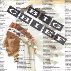 Discos de vinilo: BIG CHIEF - CALL MY NUMBER / MOVE OVER - GINGER MUSIC - 1988. Lote 63781086