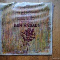 Discos de vinilo: LOU BENNETT, CATALONIA JAZZ QUARTET I ALTRES. BON NADAL. EDIGSA 1966. LP. Lote 60689695