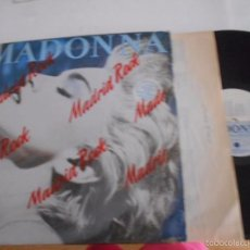 Discos de vinilo: MADONNA-LP TRUE BLUE- ESPAÑOL 1986 LETRAS. Lote 60692679