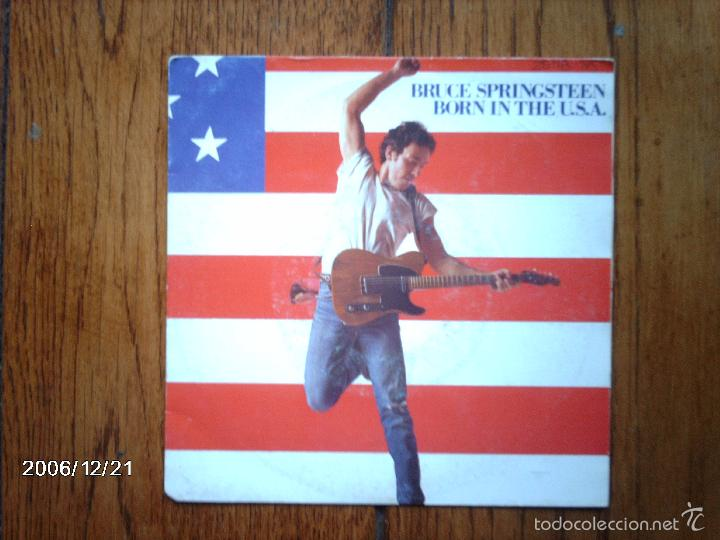 BRUCE SPRINGSTEEN - BORN IN THE USA + SHUT OUT THE LIGHT (Música - Discos - Singles Vinilo - Rock & Roll)