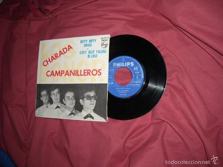 LOS SONOR - CAMPANILLEROS + 3 (PHILIPS, 1964) - LUEGO LOS BRAVOS VER FOTOS (Música - Discos de Vinilo - EPs - Grupos Españoles 50 y 60)