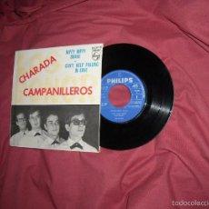 Discos de vinilo: LOS SONOR - CAMPANILLEROS + 3 (PHILIPS, 1964) - LUEGO LOS BRAVOS VER FOTOS. Lote 60724459