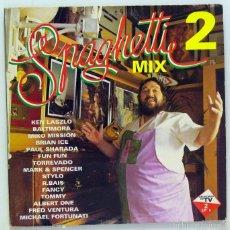 Discos de vinilo: VARIOS - 'SPAGHETTI MIX 2' (DOBLE LP VINILO. ORIGINAL 1993). Lote 60755187