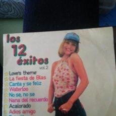 Discos de vinilo: LOS 12 EXITOS. Lote 60761107