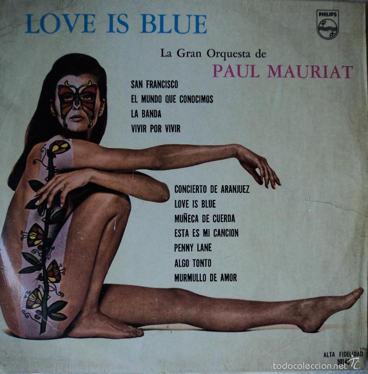 Paul Mauriat - Love is blue - Edición de 1968 de México