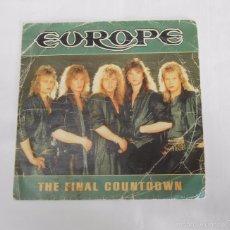Discos de vinilo: EUROPE - THE FINAL COUNTDOWN - SINGLE. TDKDS7. Lote 60771603
