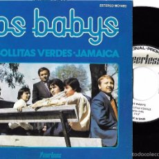Discos de vinilo: BABYS, LOS: CEBOLLITAS VERDES / JAMAICA. Lote 60791519