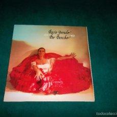 Discos de vinilo: ROCIO JURADO, POR DERECHO. RCA 1979. Lote 60799811
