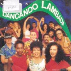 Discos de vinilo: KAOMA - DANÇANDO LAMBADA - DISCOS CBS - 1989. Lote 63820851