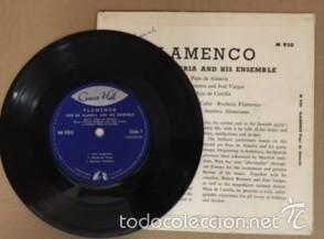 Discos de vinilo: FLAMENCO - PEPE DE ALMERIA AND HIS ENSEMBLE - CONCERT HALL - Foto 3 - 60816475