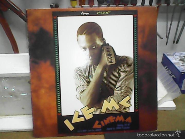 ICE MC CINEMA (Música - Discos - LP Vinilo - Disco y Dance)