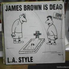 Discos de vinilo: L. A. STYLEJAMES BROWN IS DEAD. Lote 60820631