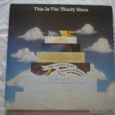 Discos de vinilo: THE MOODY BLUES THIS IS THE MOODY BLUES . Lote 60834635