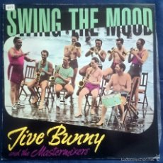 Discos de vinilo: JIVE BUNNY AND THE MASTERMIXERS: SWING THE MOOD, MAXISINGLE BOY RECORDS BOY-051, SPAIN, 1989.VG+/VG+. Lote 60839799