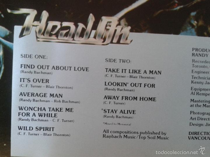 Discos de vinilo: BACHMAN TURNER OVERDRIVE ** HEAD ON ** MERCURY SPAIN 1976 ** PORTADA DOBLE *colección privada - Foto 4 - 60840383