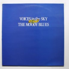 Discos de vinilo: THE MOODY BLUES - VOICES IN THE SKY (THE BEST OF THE MOODY BLUES). Lote 181705200