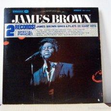 Discos de vinilo: JAMES BROWN / SINGS OUT OF SIGHT 1968 !! DOBLE LP, FUNKY KILLER SAXO MACEO PARKER !! FUNK SOUL ! EXC. Lote 60845217