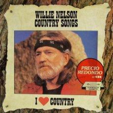 Discos de vinilo: WILLIE NELSON-COUNTRY SONGS LP VINILO 1989 SPAIN. Lote 60852279