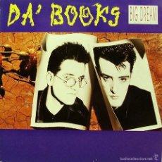 Discos de vinilo: DA´BOOKS-BIG DREAM LP VINILO 1990 SPAIN. Lote 60853019