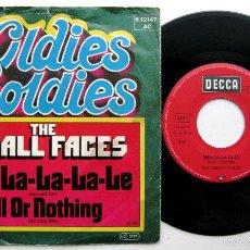 Discos de vinilo: THE SMALL FACES - SHA-LA-LA-LA-LE / ALL OR NOTHING - SINGLE DECCA 1977 BPY. Lote 60853687