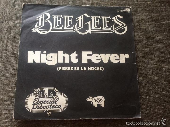 BEE GEES - NIGHT FEVER 1978 (Música - Discos - Singles Vinilo - Bandas Sonoras y Actores)