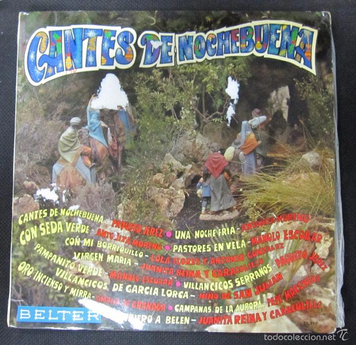 LP. CANTES DE NOCHEBUENA. DISCOS BELTER. (Música - Discos - LP Vinilo - Flamenco, Canción española y Cuplé)