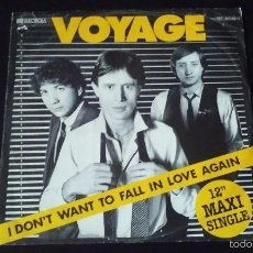 Discos de vinilo: VOYAGE - I DON'T WANT TO FALL IN LOVE AGAIN - 1980. Lote 60882347