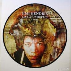 Discos de vinilo: JIMI HENDRIX - LIVE AT BERKELEY VOL.1 (PICTURE DISC). Lote 60882455