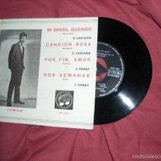 Discos de vinilo: JORGE JOSE Y CONJUNTO GUK EP MI BRASIL QUERIDO/ CANCION ROSA/ POR FIN AMOR/ DOS SEMANAS 1962 COLUMB. Lote 60886315