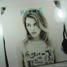 Disques de vinyle: LP VINILO KYLIE MINOGUE LETS GET TO IT. Lote 60892143