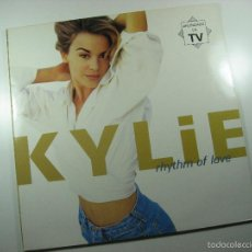 Disques de vinyle: LP VINILO KYLIE MINOGUE THYTHM OF LOVE. Lote 60892167